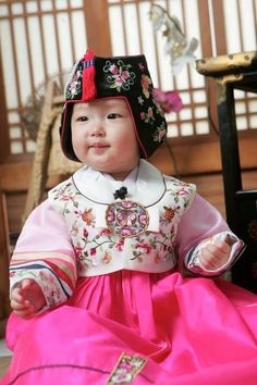 Baby girls hanbok RENTAL by DohlGoodies on Etsy