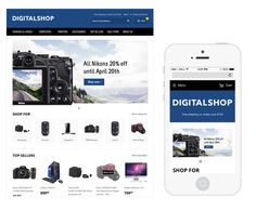 Diseño para eCommerce Dropshipping Modern Shop