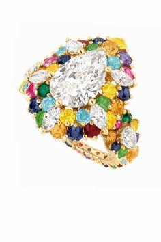 Anillo de diamantes de Dior #diamonds