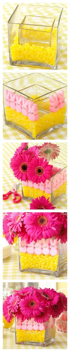 Easter Peeps Centerpiece
