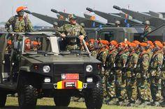 menhan-kopaskhas TNI AU_ Indonesian air force. Background: Skyshield