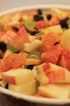 Fruit Salad: My Finnish Delights Blog