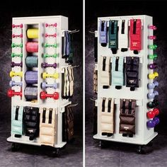 nice Corbin Slim Rac CabinetRac Vangaurd series Model 5133 - Storage rac system - Physical Therapy / Exercise Equipment Storage Item# 5133