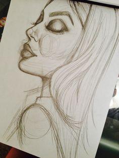 Kylie Jenner Sketch