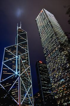 Bank of China Tower & Cheung Kong Center, Hong Kong