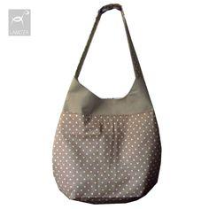 taška s přední kapsou, na zip