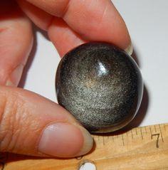 Silver Sheen Obsidian by earthlightgems on Etsy