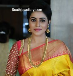 Poorna in Traditional Gold Jewellery