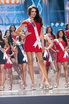 Olga Storozhenko, Miss Ukraine calling at Top 16.