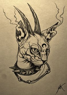 Creepy Drawings, Dark Art Drawings, Tattoo Design Drawings, Creepy Art, Art Drawings Sketches Simple, Pencil Art Drawings, Cool Drawings, Tattoo Sketch Art, Cool Sketches
