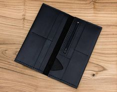 Leather wallet Wallet for women Minimalist wallet Womens