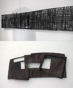 Armin Göhringer Abstract Sculpture, Wood Sculpture, Wall Sculptures, Contemporary Sculpture, Contemporary Art, Steel Art, Metal Art Projects, Wood Wall Art, Installation Art