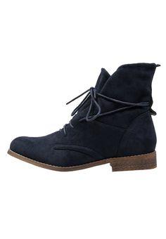 Anna Field Schnürstiefelette dark blue Schuhe bei Zalando.de | Obermaterial: Textil, Innenmaterial: Textil, Sohle: Kunststoff, Decksohle: Lederimitat | Schuhe jetzt versandkostenfrei bei Zalando.de bestellen!