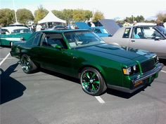 top o the mornin to ya Grand National Gnx, 1987 Buick Grand National, Lifted Ford Trucks, Chevy Trucks, Monte Carlo, Donk Cars, Buick Regal, Chevy Chevelle, Classy Cars