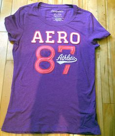 Aéropostale  Womens  Tshirt -XL - purple #Aropostale #EmbellishedTee ONLY $9.99 Michael Kors Sunglasses, Lilac, Purple, First Class Shipping, Aeropostale, Cyber, Mall, Fashion Accessories, Cute Outfits