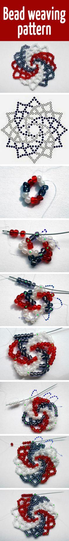 Bead weaving pattern