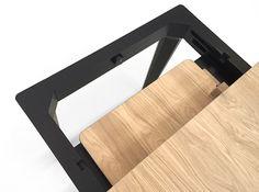 Alexis - extendable table - Oak wood