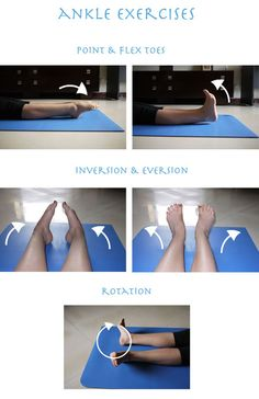 Yoga for ankle pain will help you avoid the ankle and foot problems. Also, the best yoga poses for feet and can replace your exercises for ankle pain. Ankle Strengthening Exercises, Foot Exercises, Foot Stretches, Exercises For Calves, Sprained Ankle Exercises, Ankle Rehab Exercises, Easy Stretches, Dance Stretches, Ankle Pain