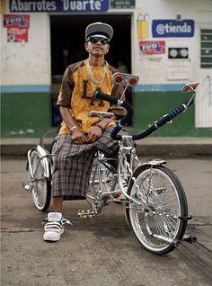 not quite a scraper bike, but dang