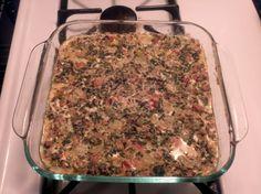 Keto Spinach Mexican Casserole