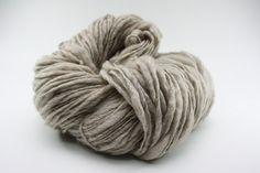 Grey Slub Yarn