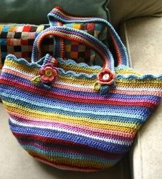 crochet a tote bag - Google Search