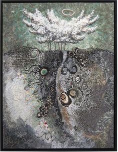 Spirit Trees - Adoration - Lorraine Roy: Textile Art