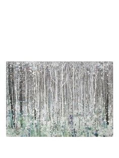 Graham & Brown Watercolour Woods Canvas | very.co.uk