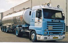 Scania Streamline H&S Transport Old Wagons, Volvo Trucks, Cool Trucks, Cars And Motorcycles, Transportation, Pandora, History, School, Vehicles