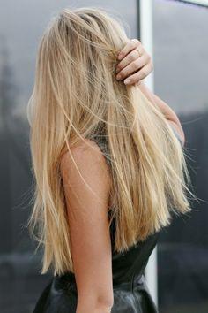 Blonde Hair - LBD