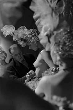 Folies Bergere, 1956        Photo by Frank Horvat
