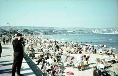 Swanage Beach 1966 by N nine, via Flickr
