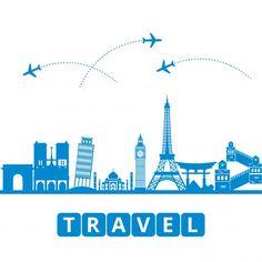 Travel concept with landmarks Free Vector https://ift.tt/2GaQjc5