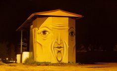 Уличный художник Nomerz