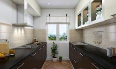 Amarula Parallel Modular Kitchen