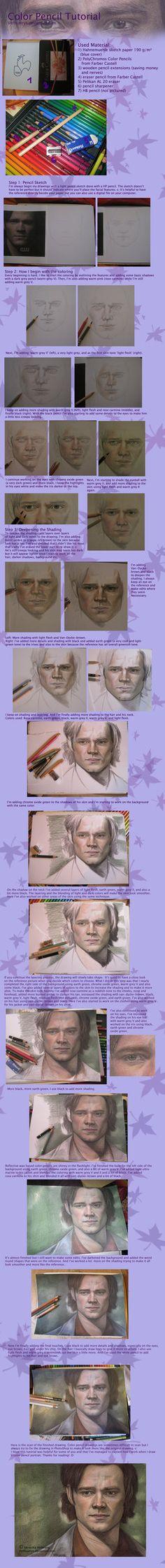 Color Pencil Tutorial by ~Verlisaerys on deviantART