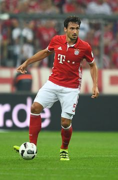 Mats Hummels of Bayern Muenchen in action during the Bundesliga match between…