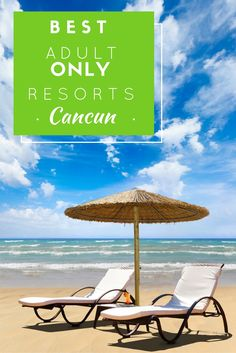 Here's a list of the Best Adult Only Resorts in Cancun. Because you went to Cancun to escape kids, not to have your peace shattered by them.
