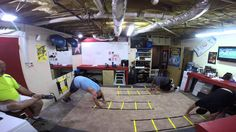 INSANITY THE ASYLUM: Speed and Agility. We had a young buck w/ us today! http://www.ncfitclub.com