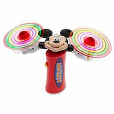 Disney Mickey Mouse Spiraling Light Toy | Disney StoreMickey Mouse Spiraling Light Toy - Our mouse makes magic after dark with this deluxe light-up wand featuring two spiraling sets of LED lights mounted in soft plastic and attached to sculptured spinning Mickey gloves for a multi-twirling whirlwind of electronic lights!