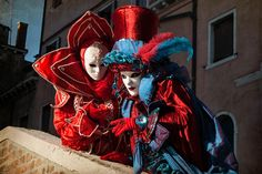 Venetian Carnival - Conspirators Photograph by Zina Zinchik #venetiancarnival #clown #photography
