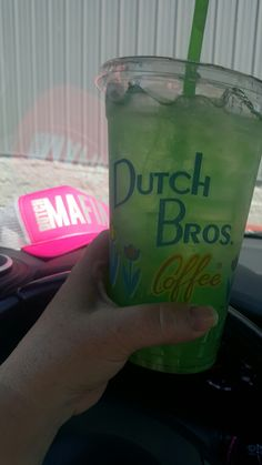Green tea mojito  Dutch  Bros
