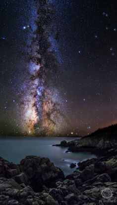 ~~Milky way adventure ~ spectacular cove, Maine by Jared Blash~~