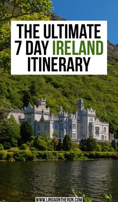 """The Ultimate 7 Day Ireland Itinerary, TRAVEL, This is an excellent guide to a week-long vacation in Ireland. """"Linda on the Run"""" has laid out the ultimate vacation guide including exploring Dublin,. Europe Destinations, Europe Travel Tips, Travel Hacks, European Travel, Ireland Travel Guide, Ireland Vacation, By Train, Scotland Travel, Plan Your Trip"""