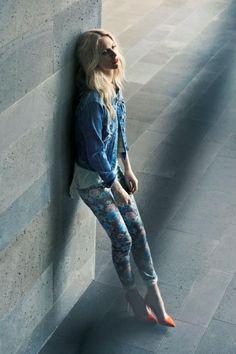 VERO MODA Spring 2013 campaign featuring Poppy Delevingne