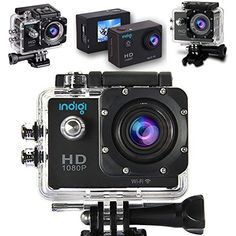 #electronic #beach Introducing #Indigi ActionCam HD Cube Black, with everything you need for your for outdoor sports and activities, Extreme Sports , Bicycle, Sk...