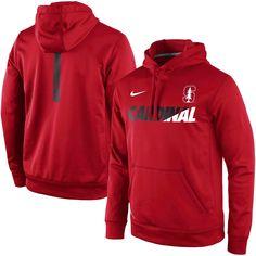 Stanford Cardinal Nike Sideline KO Fleece Therma-FIT Performance Hoodie - Cardinal - $59.99