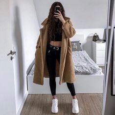 Kpop Fashion Outfits, Winter Fashion Outfits, Korean Outfits, Mode Outfits, Cute Fashion, Fall Outfits, Fashion Black, Mein Style, Elegantes Outfit