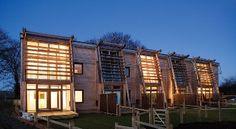 Low enery housing scheme in Somerset.