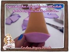 Paso a paso Hadita de los deseos La artesana Carolina Miziara Barreto nos enseña a realizar paso a paso, esta hermosa fofucha hadita de los deseos. Con est